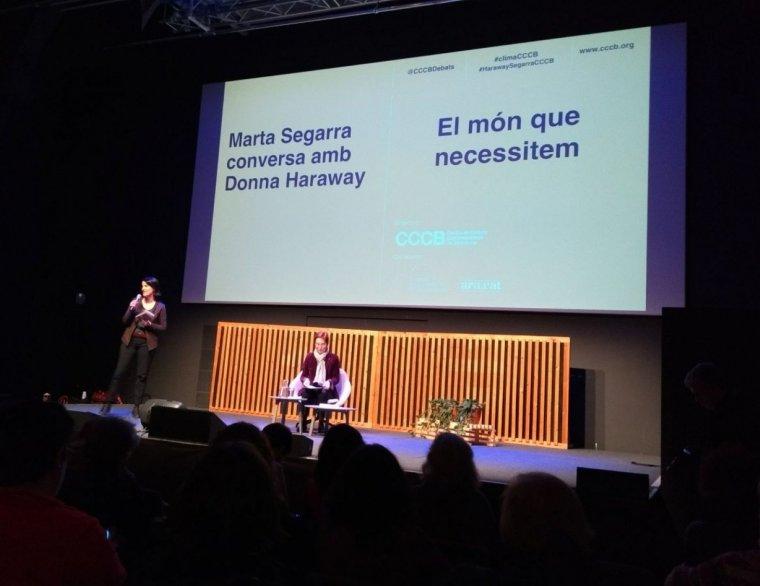 Marta Segarra sent presentada al CCCB