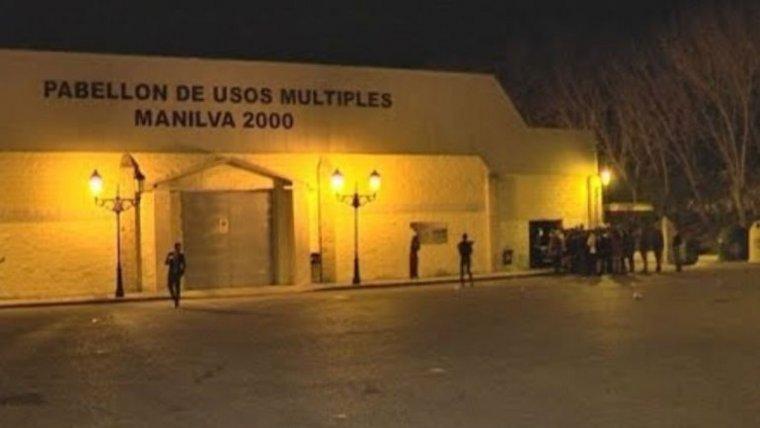 Pabellón municipal de Manilva, donde ocurrieron los hechos
