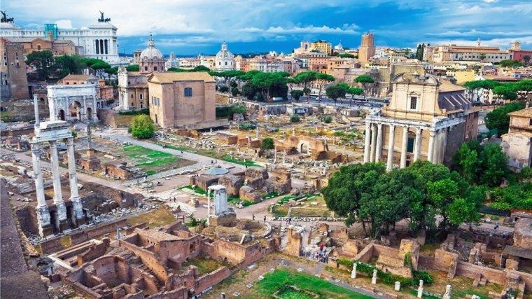 Restos de la antigua Roma.