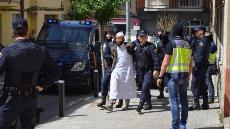 Imatge d'arxiu d'una detenció d'un presumpte radical islamista
