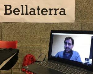 Connexió amb el conseller cessat pel 155 i ara a Brussel·les, Toni Comín