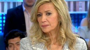 Diana López Pinel durante su entrevista en 'Espejo Público'