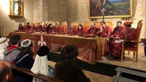 El passat dissabte 21 d'abril l'església de Sant Miquel, coincidint amb la celebració de la Setmana Medieval de Montblanc.