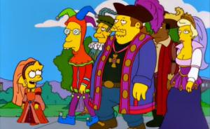 En este capítulo Lisa forma parte de un grupo de tecnócratas dispuestos a gobernar la ciudad de Springfield.