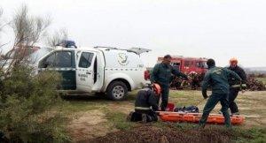 Encuentran el cadáver de un hombre en Huesca.