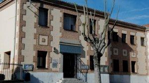 Fachada del Colegio La Inmaculada Leganés, donde supuestamente se ha producido el accidente laborla