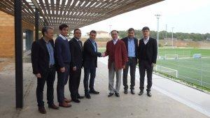 Foto de família de Mare Nostrum i China Sports Futurity Investment