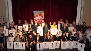 Foto de família dels premiats