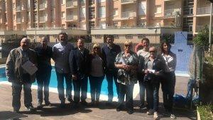 Fotografia dels assistents a la II Taula de Turisme de Cunit