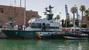 Imagen de archivo del Servicio Marítimo