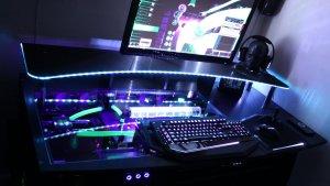 Imagen de una computadora gamer.