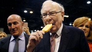Imagen de Warren Buffet, una de las tres personas más ricas del planeta.