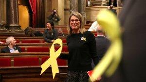Imatge d'arxiu de la portaveu de Junts per Catalunya, Elsa Artadi