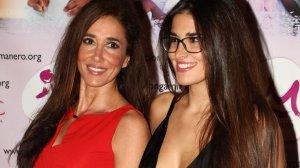 Imatge d'arxiu de la presentadora catalana Elsa Anka i la seva filla Lidia Torrent