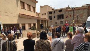 Imatge de la inauguració de la residència d'avis «Lo Parralet» de Vandellòs.