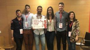 Imatge de la nova comissió executiva de la JSC del Camp de Tarragona