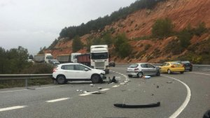 Imatge de l'accident.