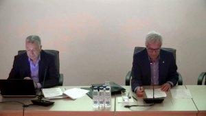 Imatge de l'Assemblea General del Consorci d'Aigües de Tarragona, celebrada al mes d'abril
