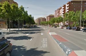 Imatge del Gran Passeig de Ronda de Lleida