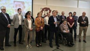 Josep Anton Ferré presenta el seu programa electoral
