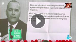 La carta de Carlos Lozano