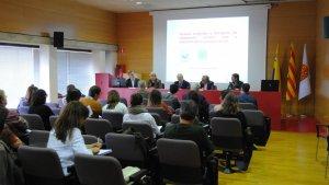 La jornada 'Turisme sostenible', que s'ha celebrat a la Facultat de Turisme i Geografia de Vila-seca.