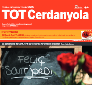 La portada del TOT del 19 d'abril