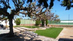 L'Ajuntament de Bràfim ha iniciat recentment la reforma de bona part del recinte de la piscina municipal.