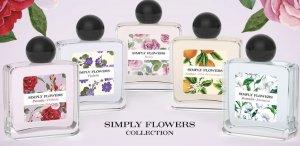 Las cinco nuevas fragancias 'Simply Flowers' de Mercadona