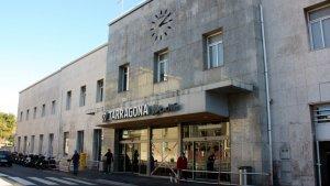 L'estació de tren de Tarragona, en una imatge d'arxiu
