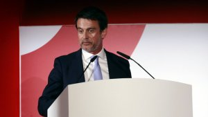 L'exprimer ministre francès, Manuel Valls.