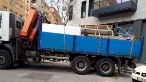 L'IVECO model Trader 350 que ha estat robat aquesta matinada a Viladecans