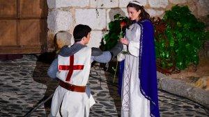 Llegenda de Sant Jordi a la Setmana Medieval de Montblanc 2017