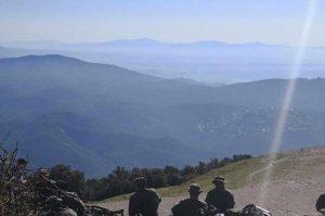 Maniobres militars al Parc Natural de Sant Llorenç