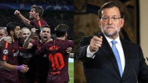 Mariano Rajoy no va felicitar al Barça després de guanyar la Lliga a Riazor