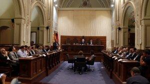Pla general del ple de la Diputació de Tarragona