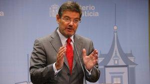 Rafael Catalá confia que l'extradició de Puigdemont i els consellers es produirà