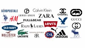 Seguro que conoces todas estas marcas de ropa famosas.