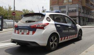 Un cotxe dels Mossos d'Esquadra a Cerdanyola