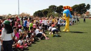 Un total de 300 escolars de Vila-seca han celebrat aquest dijous els Mini Jocs Mediterranis