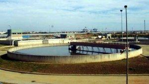 Una imatge de la depuradora de Vila-seca i Salou.