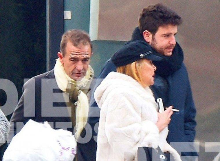Ana Obregón, Alessandro Lequipo y su hijo Álex