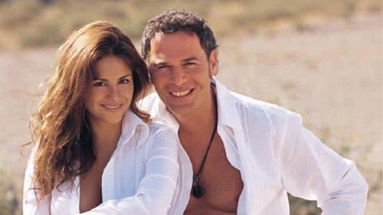 Carlos Lozano, con su exmujer, Monica Hoyos
