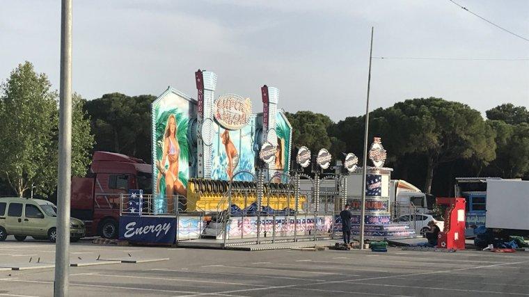 Imatges de la preparació de la Feria d'Abril de Bonavista 2018
