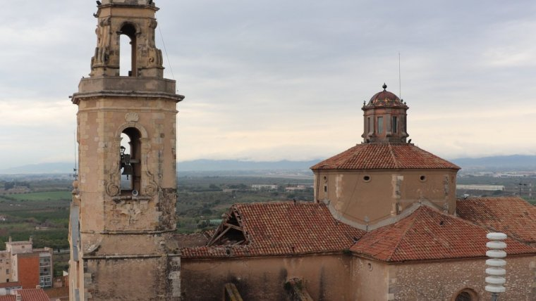 L'església corria, des de fa anys, risc d'esfondrament.