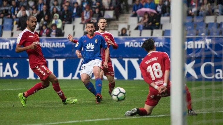 Oviedo, OviedoNàstic1718, Nàstic