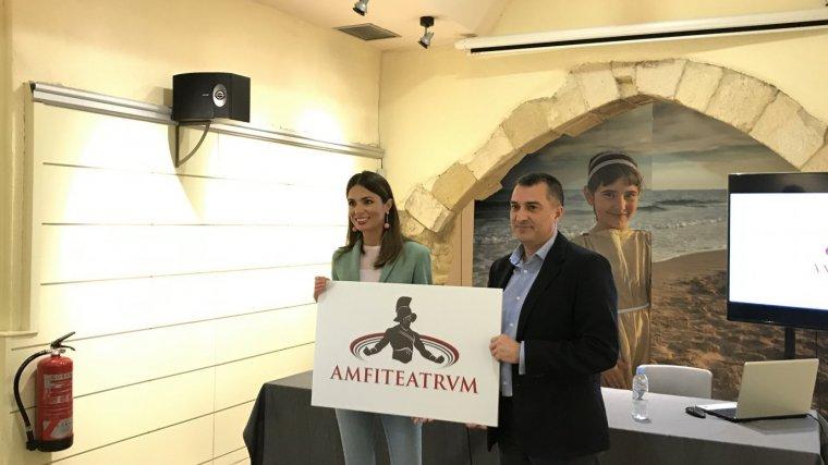 Presentació de l'espectacle 'Amfiteatrvm' al Patronat de Turisme de Tarragona