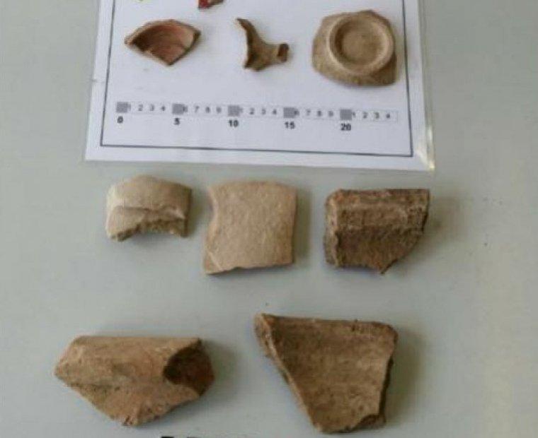 Imatge de restes arqueològiques del jaciment