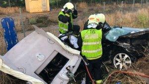 Accidente en Navarra