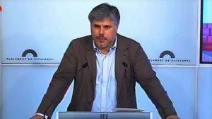 Albert Batet, nou portaveu parlamentari de Junts per Catalunya
